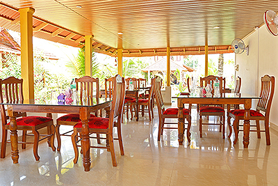 Beach Paradise Resort Alleppey Restaurant